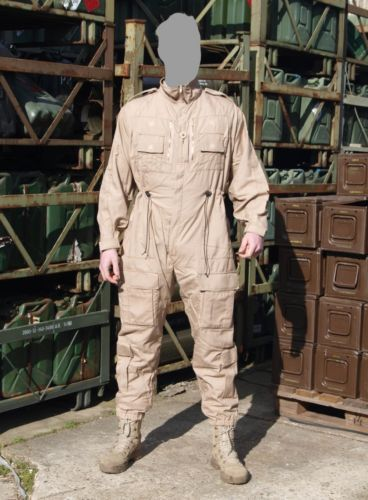 British-Army-Fighting-Vehicle-Coverall-Overall-Olive-Genuine-Army