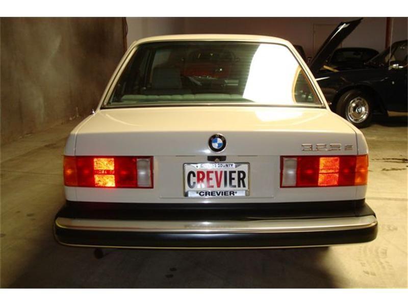 1985 Bmw 325e Bmw 325e Bmw E30 Bmw