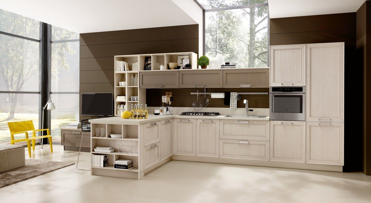 cucine #stosa #contemporanee #legno #design #stile #qualità ... - Cucina Febal Light La Qualita Accessibile