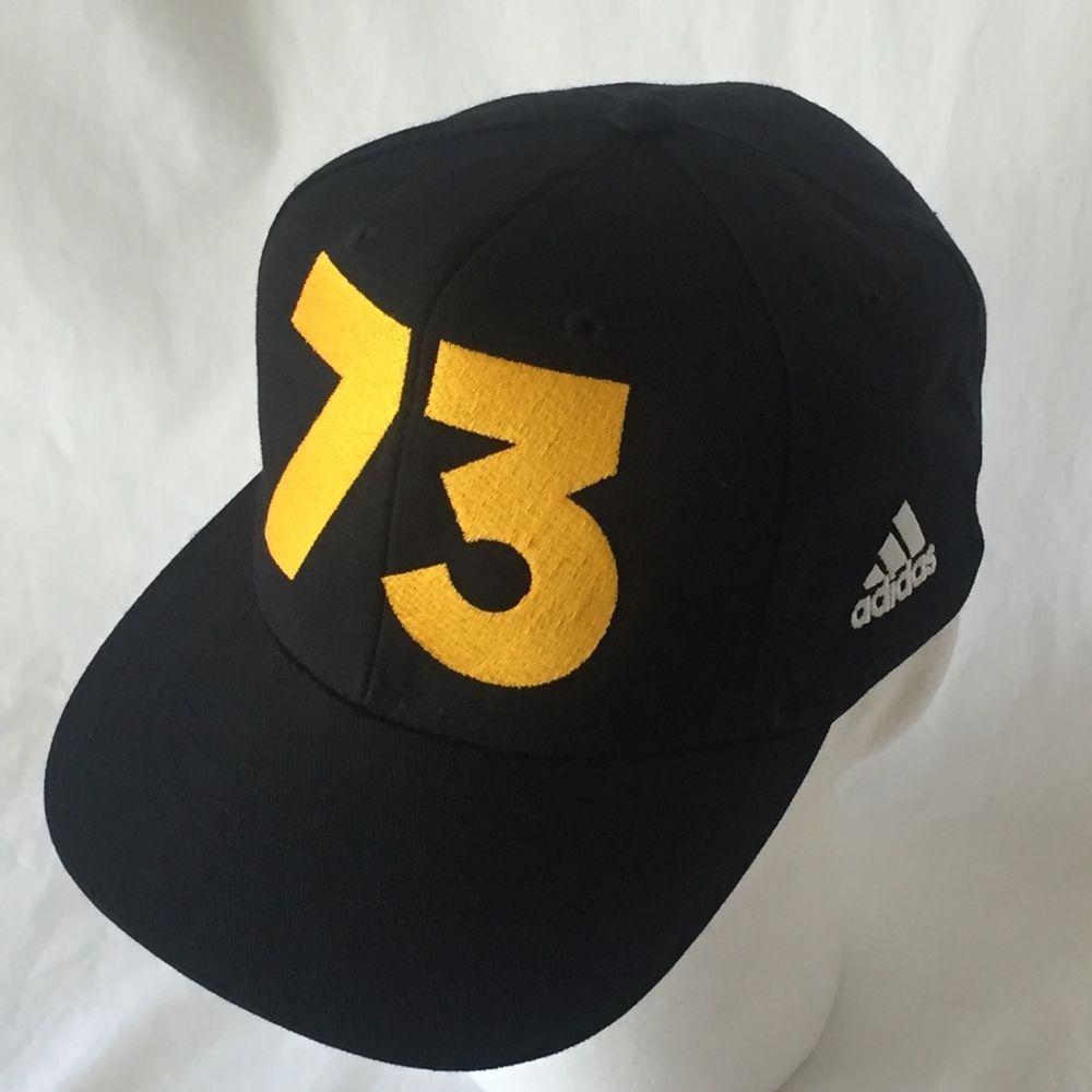 GSW 73 Adidas Baseball Cap Hat Golden State Warriors