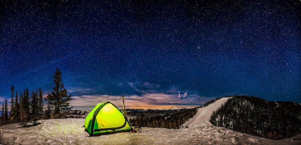 winter camping on aspen mountain   Affordable vacations ...