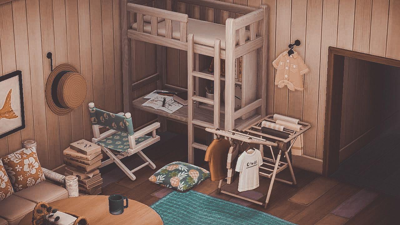 Comfort Crossing Animal Crossing Game Cottagecore Interior New Animal Crossing Acnh bedroom ideas cottagecore