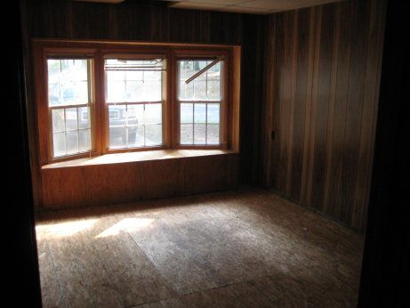 Before and after pictures of converted garage view of - Convert garage to bedroom permit ...