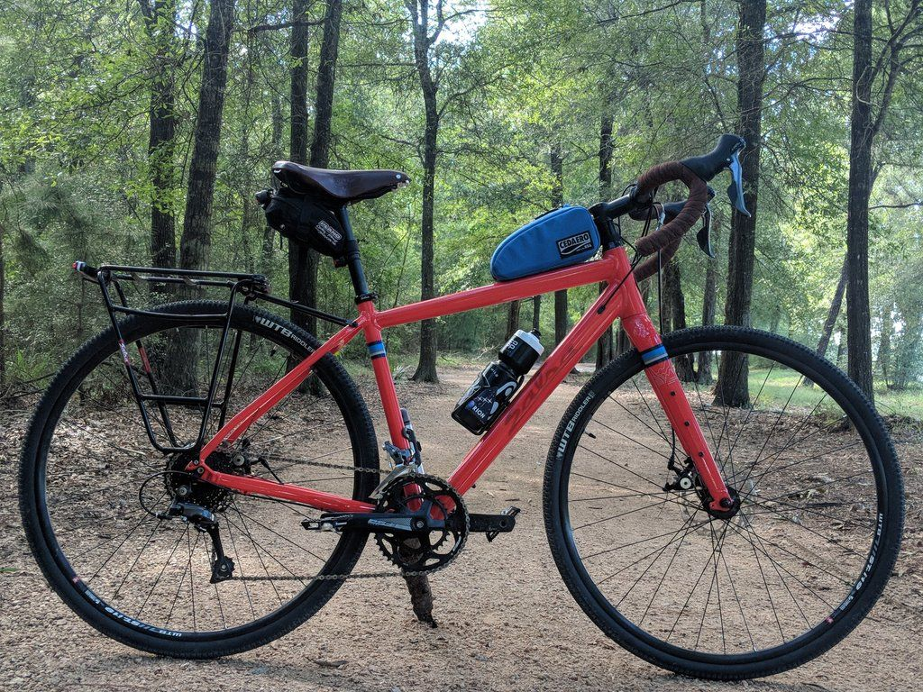 My Daily Commuter Gravel Grinder Bicycling Touring Bike