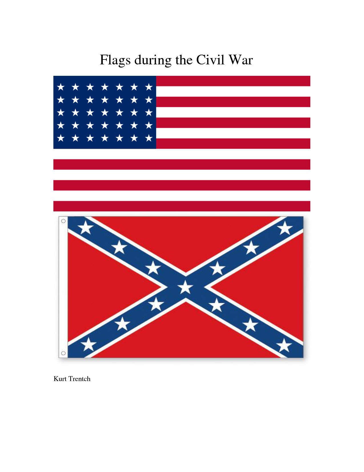 union army flags of civil war