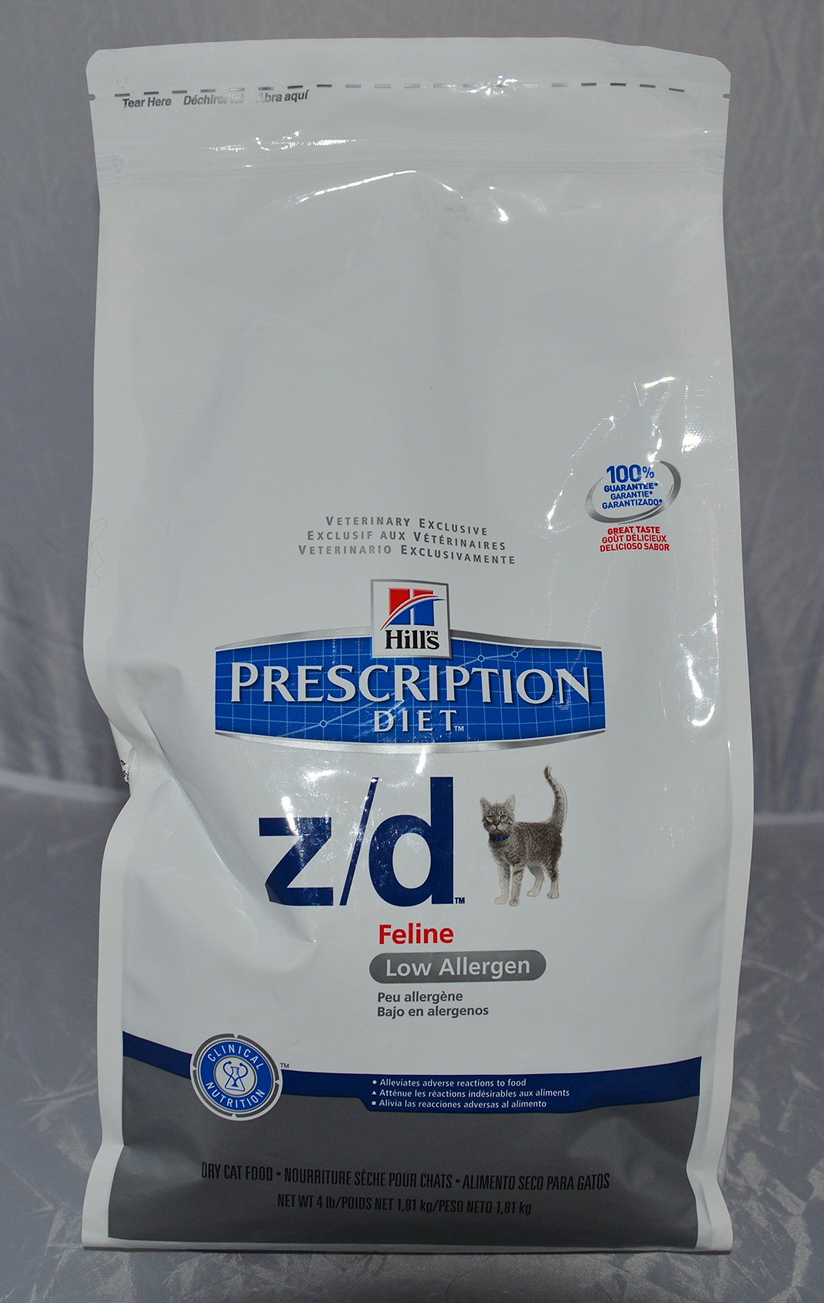 Hills Prescription Diet Z/d Feline Low Allergen * Want to