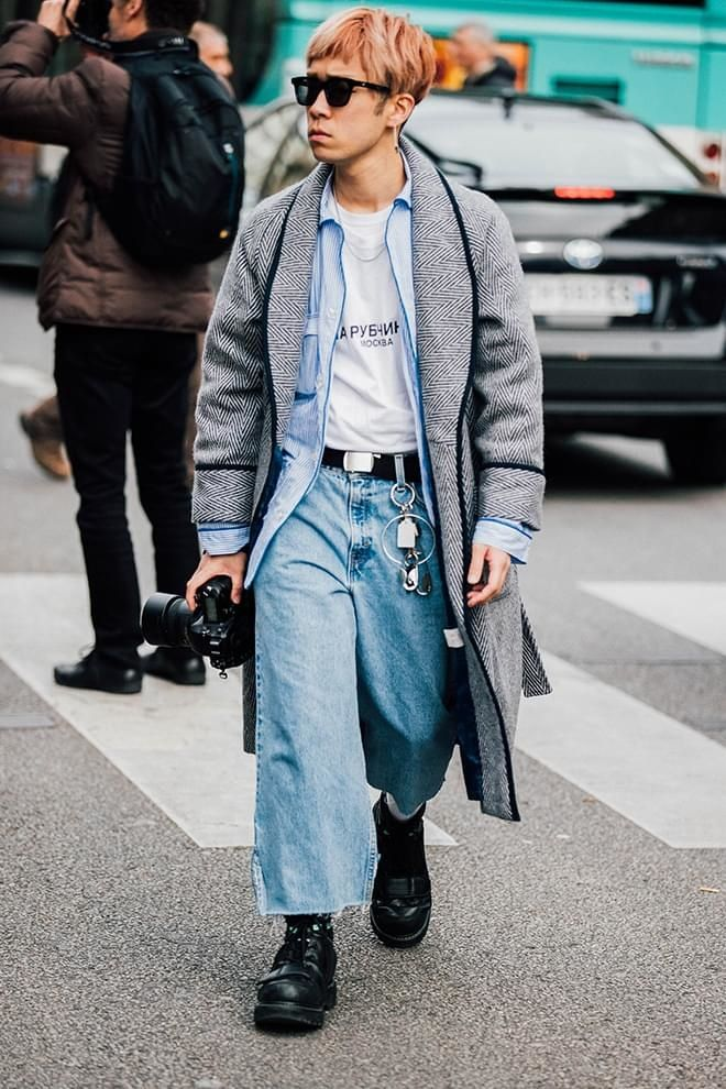 Street style les plus beaux looks homme vus la fashion - Style automne 2017 ...
