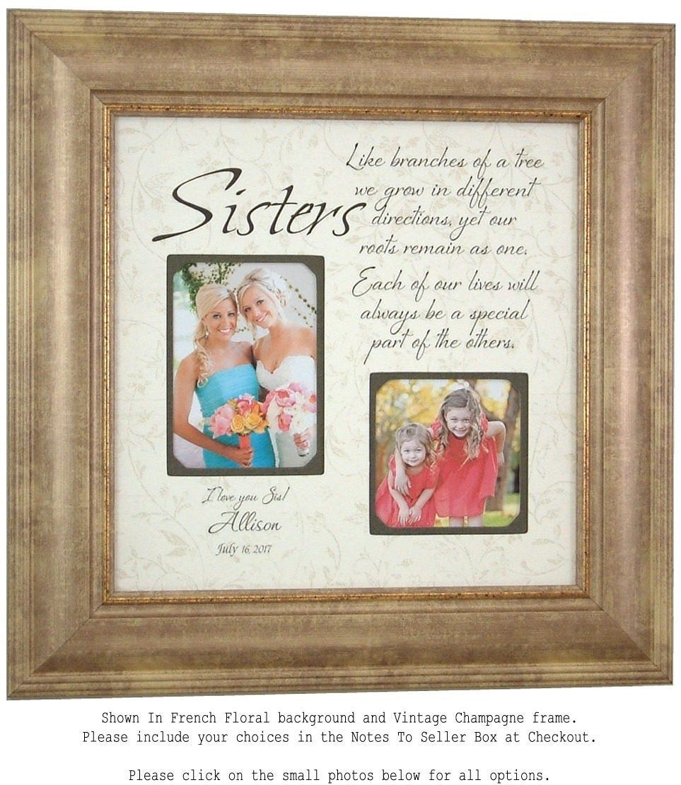 Thank You For Wedding Gift: Sister Wedding Gift Maid Of Honor Bridesmaid Thank You