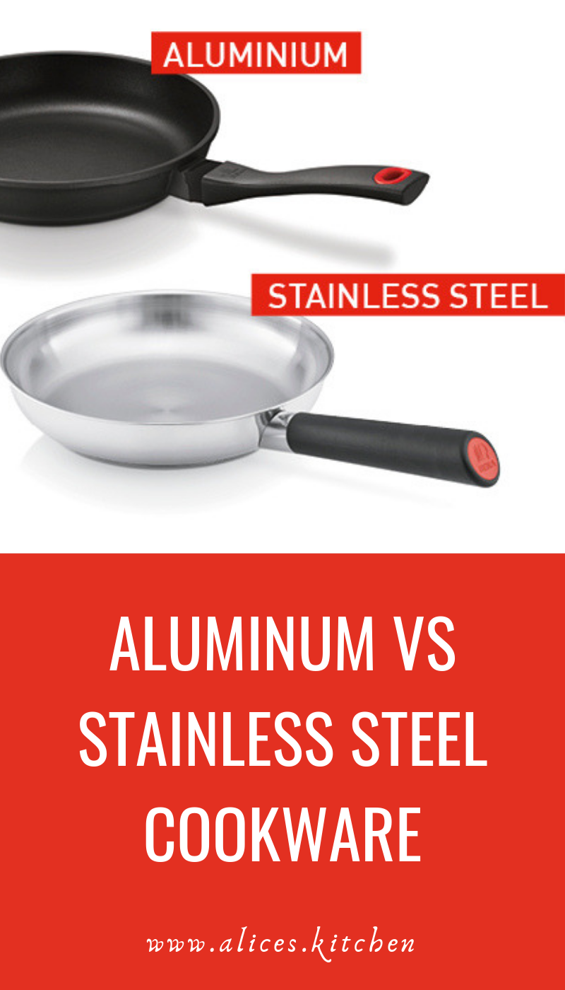 Aluminum Vs Stainless Steel Cookware Hard Anodized Cookware Cookware Set Stainless Steel Stainless Steel Cookware