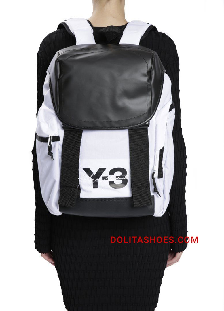 """28113c2af84 """"Mobility"""" nylon unisex backpack from Y-3 by Yohji Yamamoto. The tech"""