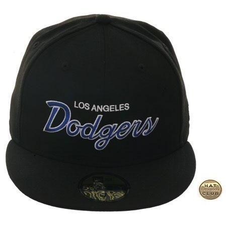 Exclusive New Era 59Fifty Los Angeles Dodgers Script Hat