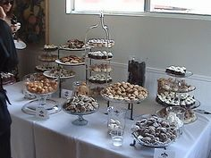 This Article Is About A Super Budget Wedding With Lots Of Diy Dessert Buffet