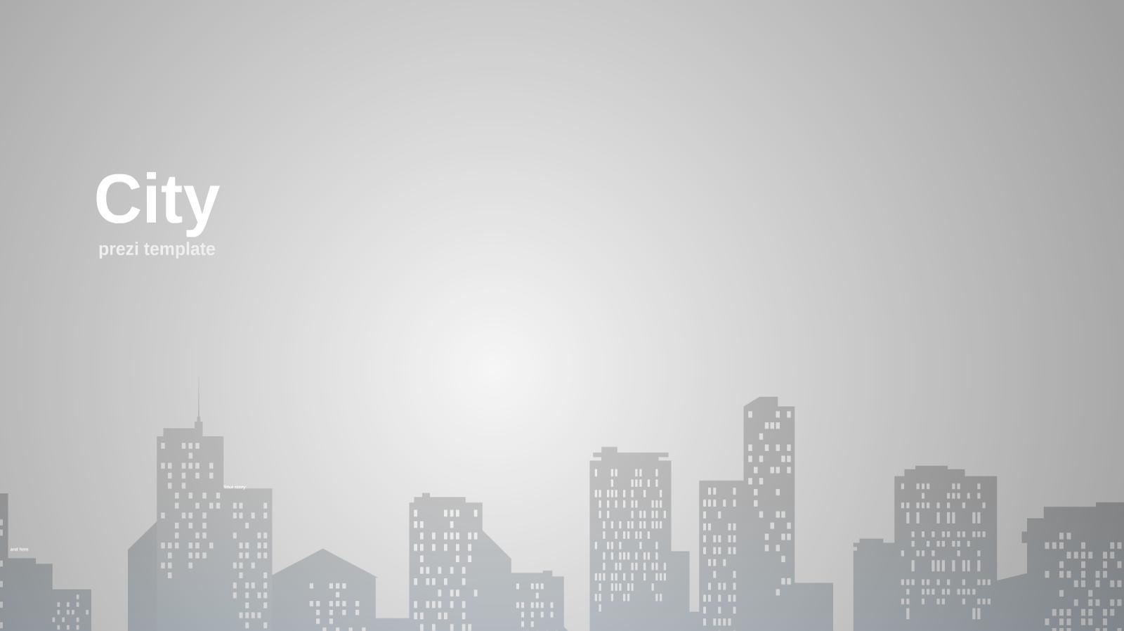 miasto we mgle jako nowe t u0142o do twojej prezentacji prezi