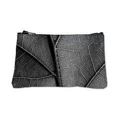 Detail leaf in artistic black and white Coin Purse> Black and white leaf veins> Victory Ink Tshirts and Gifts
