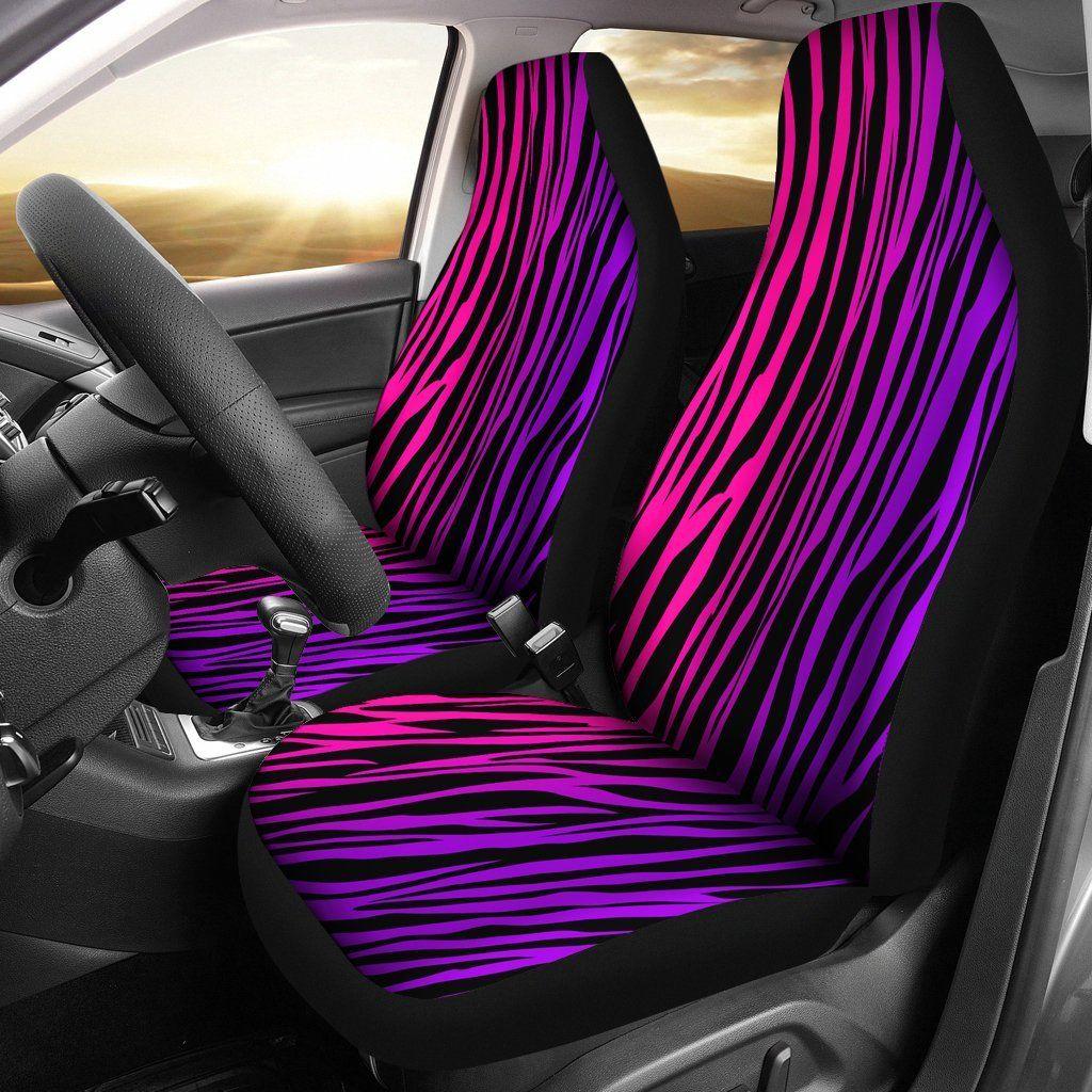 Rainbow Zebra Custom Car Seat Covers Car seats, Car seat
