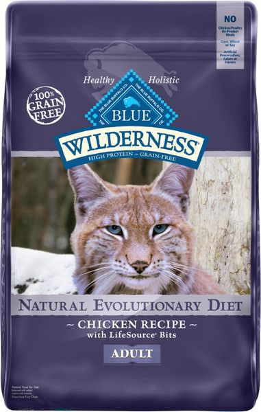 Blue Buffalo Wilderness Chicken Recipe Grain Free Dry Cat Food