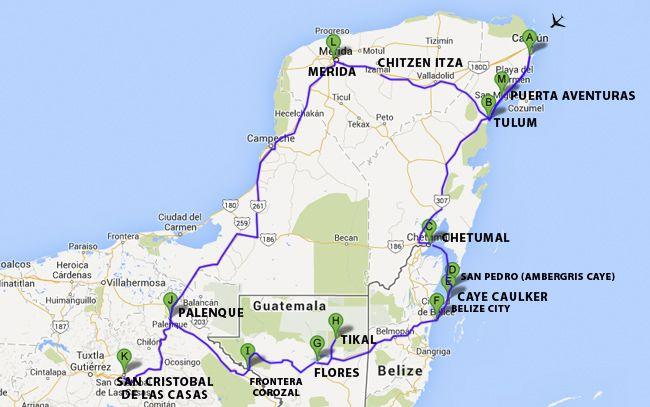 Reisebericht Mexiko Rundreise: Mexiko, Belize & Guatemala (3 ...