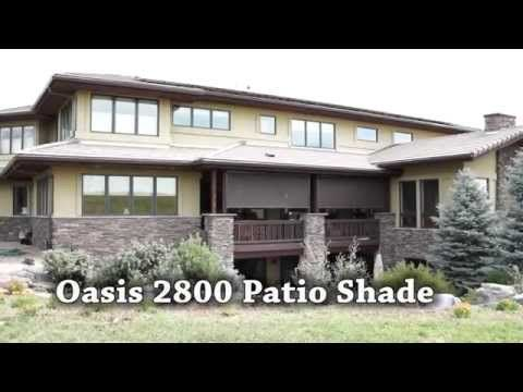 Treat yourself to Insolroll® Oasis 2800 Patio Shades, found at
