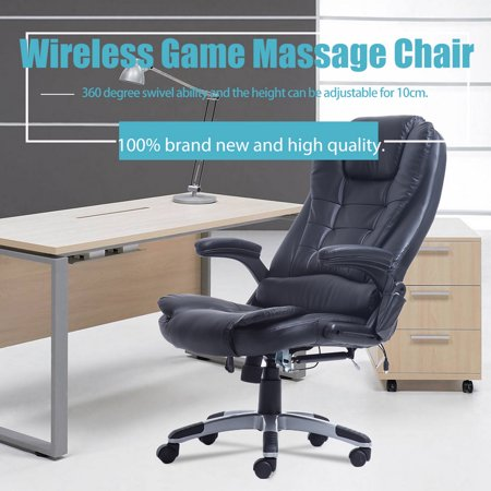 Executive Office Massage Chair Ergonomic Heated Vibrating Computer
