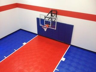 Made In America Snapsports Can Be Designed To Meet Your Homegym Needs Any Color Size Or Layout Www Indoor Basketball Court At Home Gym Basketball Court Size