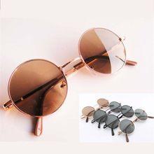 44b39d302 Óculos de sol verde, azul, dourado, vermelho, marrom, preto, branco,  redondo circular moda vintage , óculos de sol feminino e masculino marca  Designer(China ...