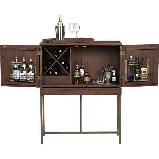 Crate and barrel liquor