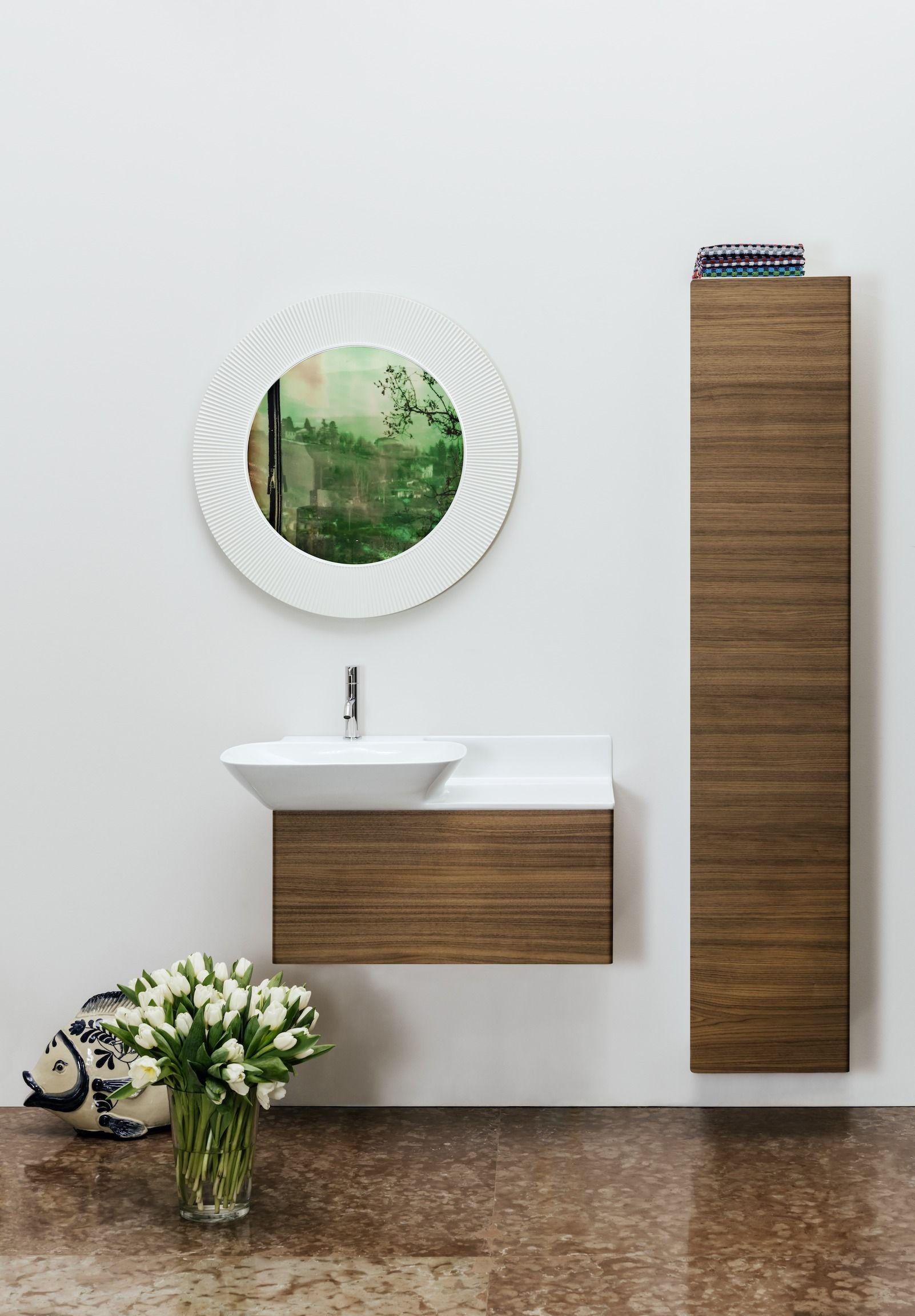 Laufen Ino Waschtisch 1 Hahnloch Mit Berlauf Keramikablage Rechts 900x450 Wei Neues Badezimmer Waschtisch Stauraum