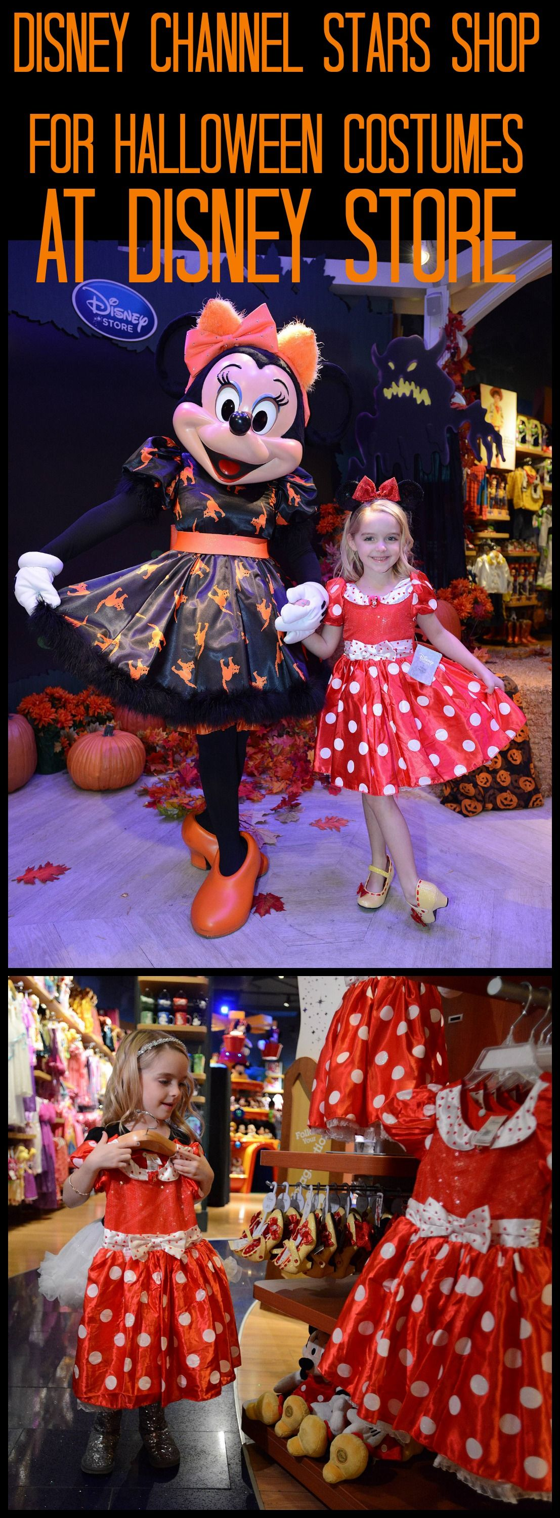 Disney Store's Halloween Costume BOOtique Goes Hollywood