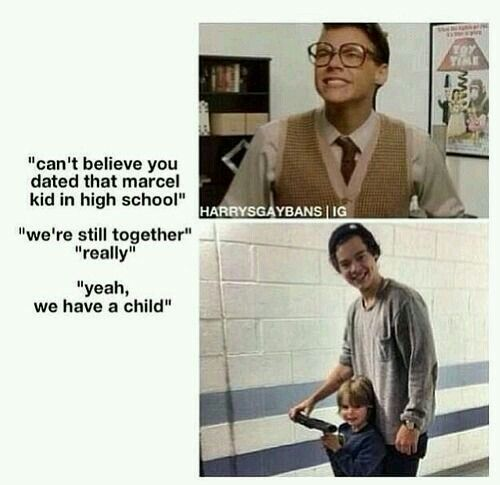 Photo of I can't believe we make Marcel imagines.