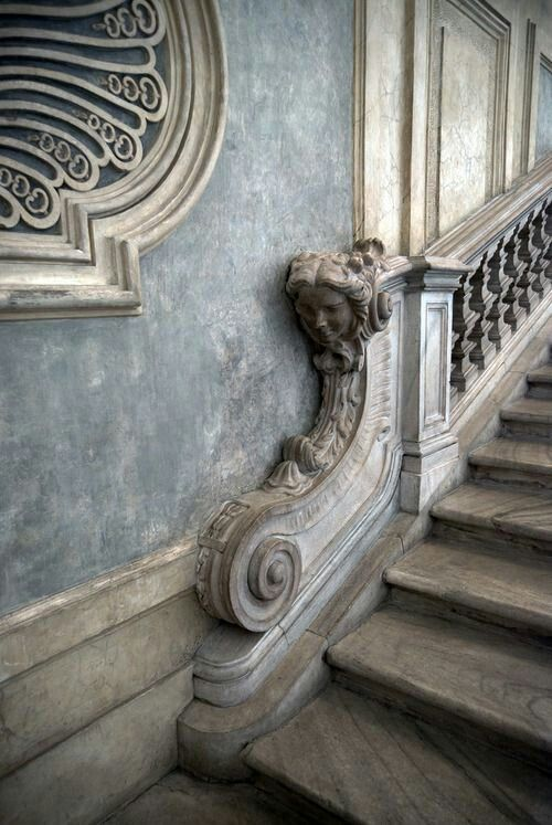 Graceful Grey Staircase