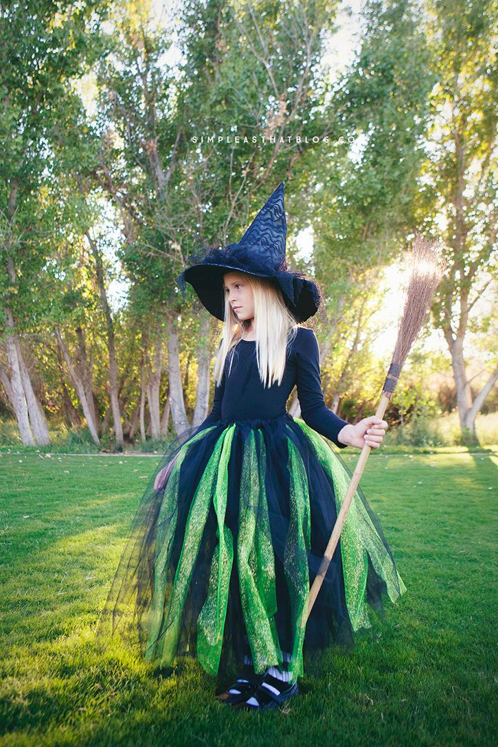 diy no sew wicked witch of the west halloween costume