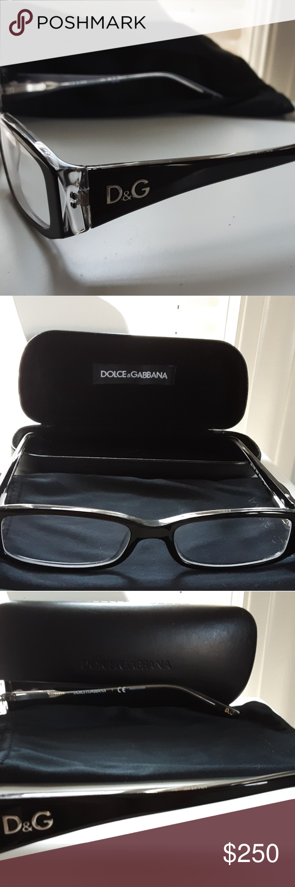 28cb03b52be0 D G Prescription Glasses Classy And Brand New. My Husband Purchased These