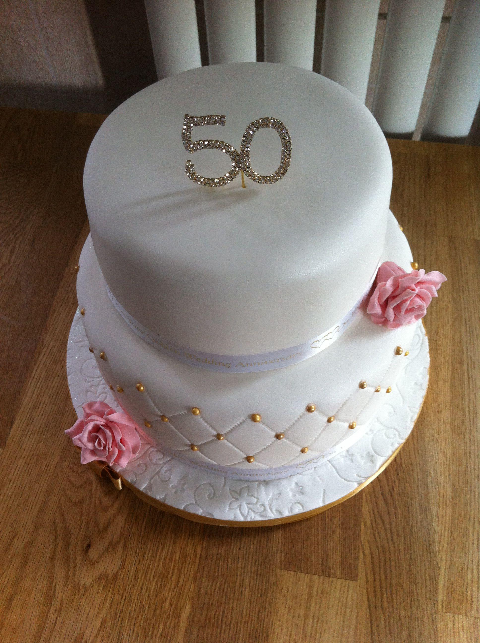 Th golden wedding anniversary cake food u drink that i love