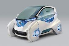 【東京モーターショー11】ホンダ、マイクロコミューターコンセプト…未来都市型の携帯パワースーツの画像