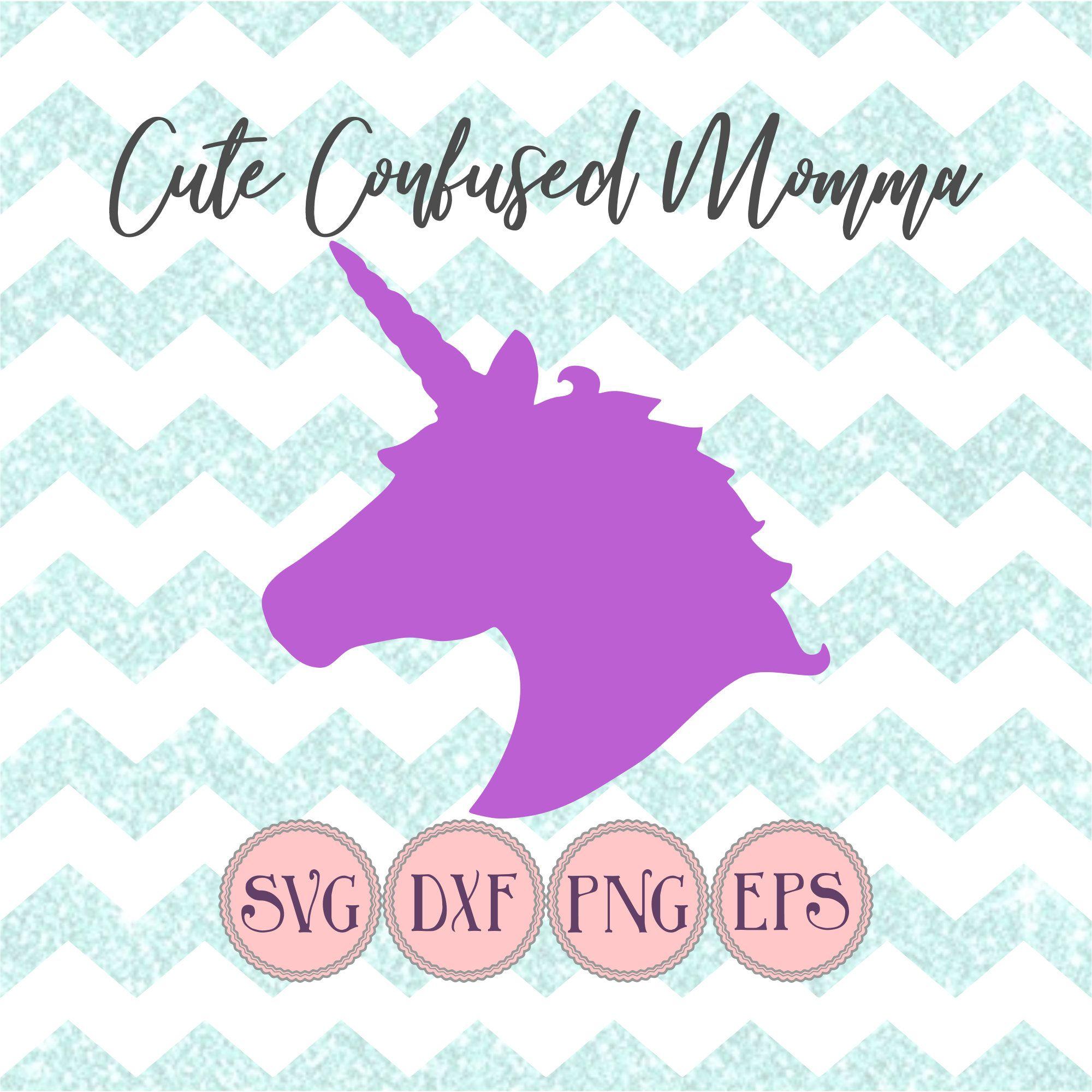 Unicorn Svg Files, Unicorn Clipart, Kids Svg, Unicorn Head