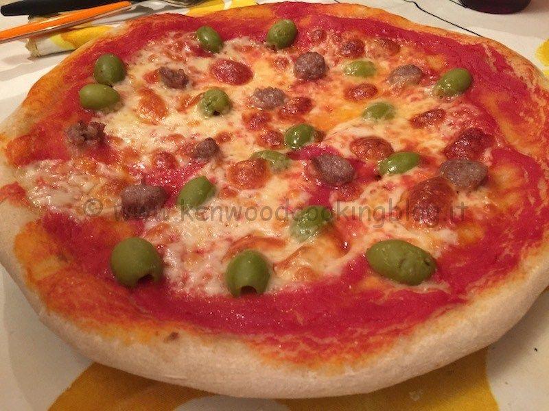 Ricetta pizza metodo Gino Sorbillo con lievito di birra Kenwood ...