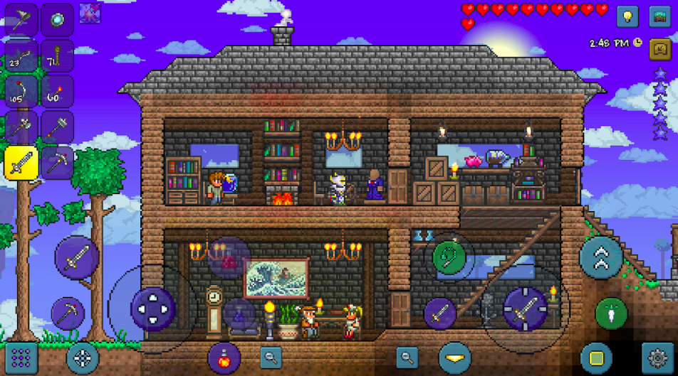 Terraria APK MOD (Unlimited Items) free for Android