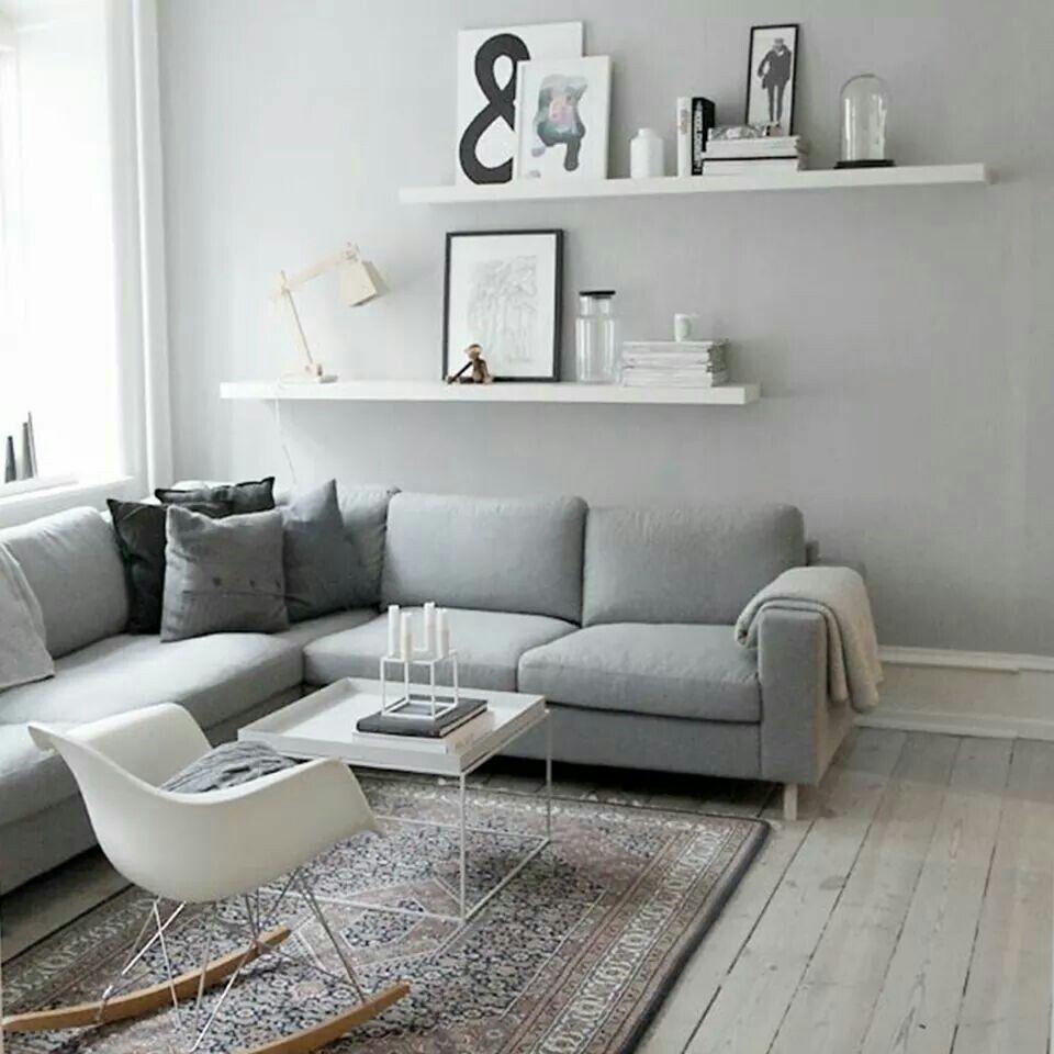 Graue Wände Wohnzimmer: Pin Von Chantal Auf Deko♥