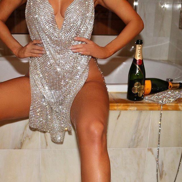 f72e5e4f6d4a6 Diamond Chain Bralette Outfit Body Jewelry-Body Kandy Couture. Rhinestone  Body Jewelry Chain Bralette. Diamond Rhinestone Cut Out Gold Body Harness  Chain ...