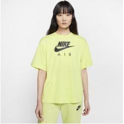 nike shirt geel