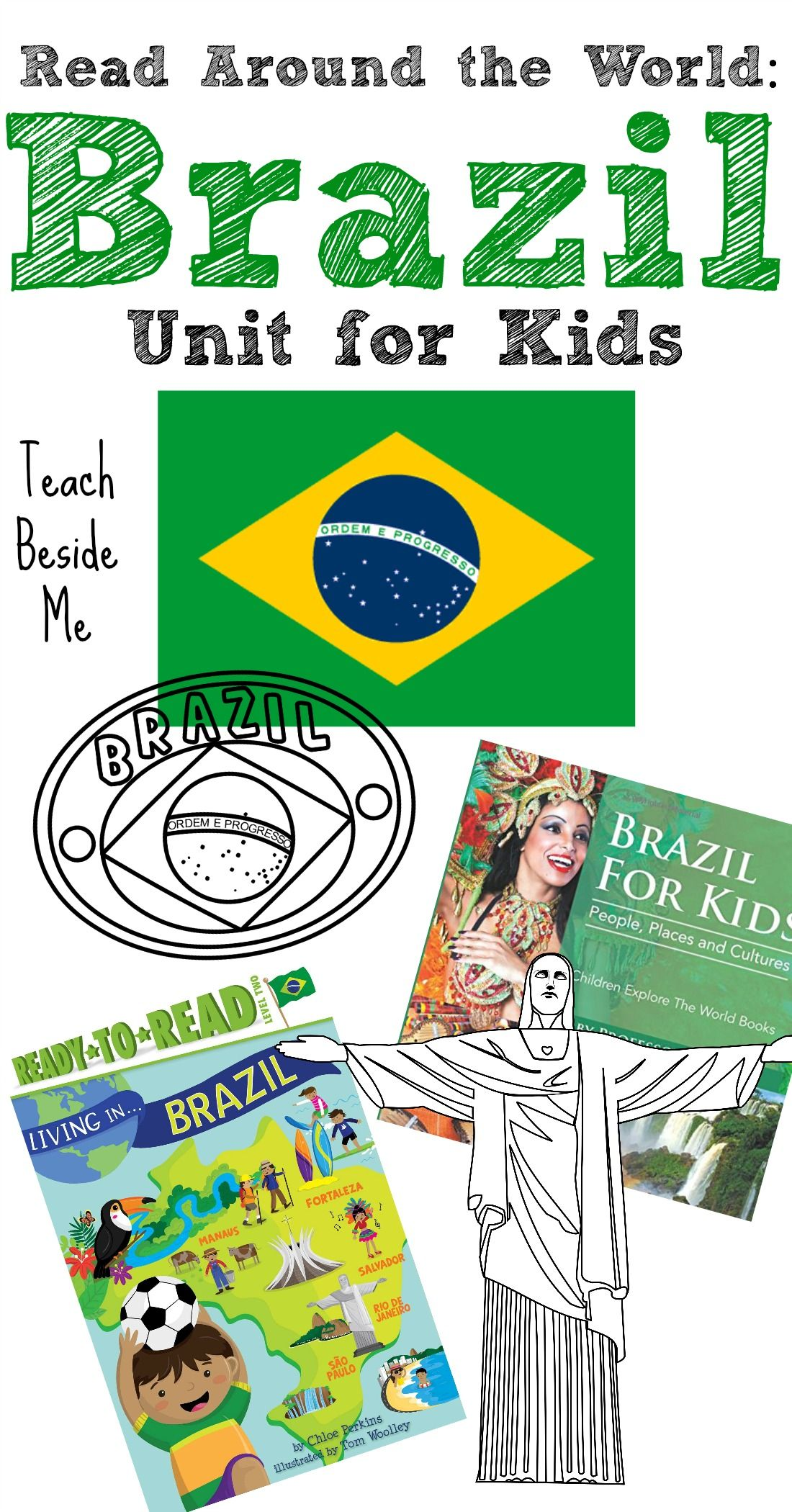 Read Around the World: Brazil Unit | Brazil, Summer olympics and ...