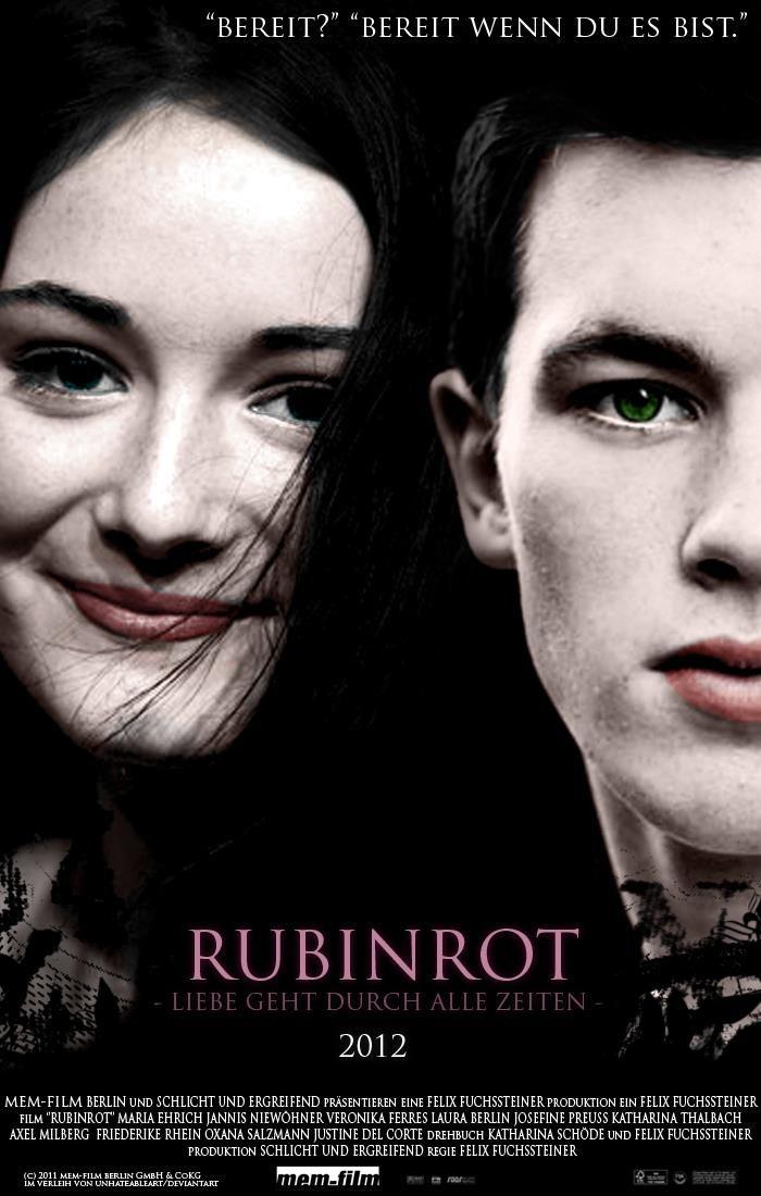 Rubinrot Just 171 Days Until To The Movie Rubinrot Saphirblau Smaragdgrun Rubinrot Saphirblau