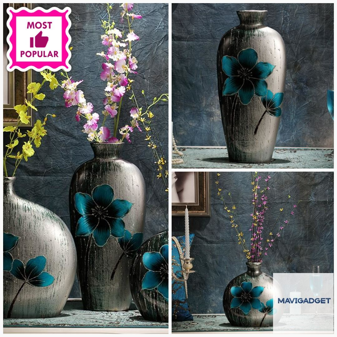 European Retro Minimalist Floral Flower Home Vase  #decorationidea #homegood #homedecorstore #homestuff #homegoods #luxuryhomes #luxurydecors #decorationhome #homedecorlover #homedecortips