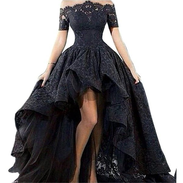 Dress With Short Front And Long Back