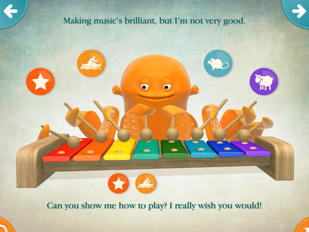 Timmy Tickle educational iPad app for preschoolers - such a fun animated storybook!