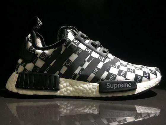 6910c3c94a90c Supreme X Adidas NMD R1 Black Grey White Ba7745 New Shoe