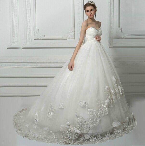 Lace Tulle Maternity Wedding Dress   Vestidos de novia, De novia y ...