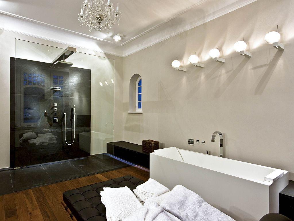 wand06 senza das fugenlose bad aus kalk marmor putz farbrat spa pinterest bad. Black Bedroom Furniture Sets. Home Design Ideas