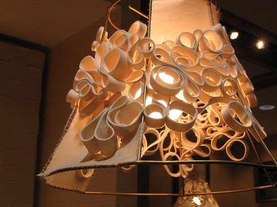 Making old new again creative lampshade frames
