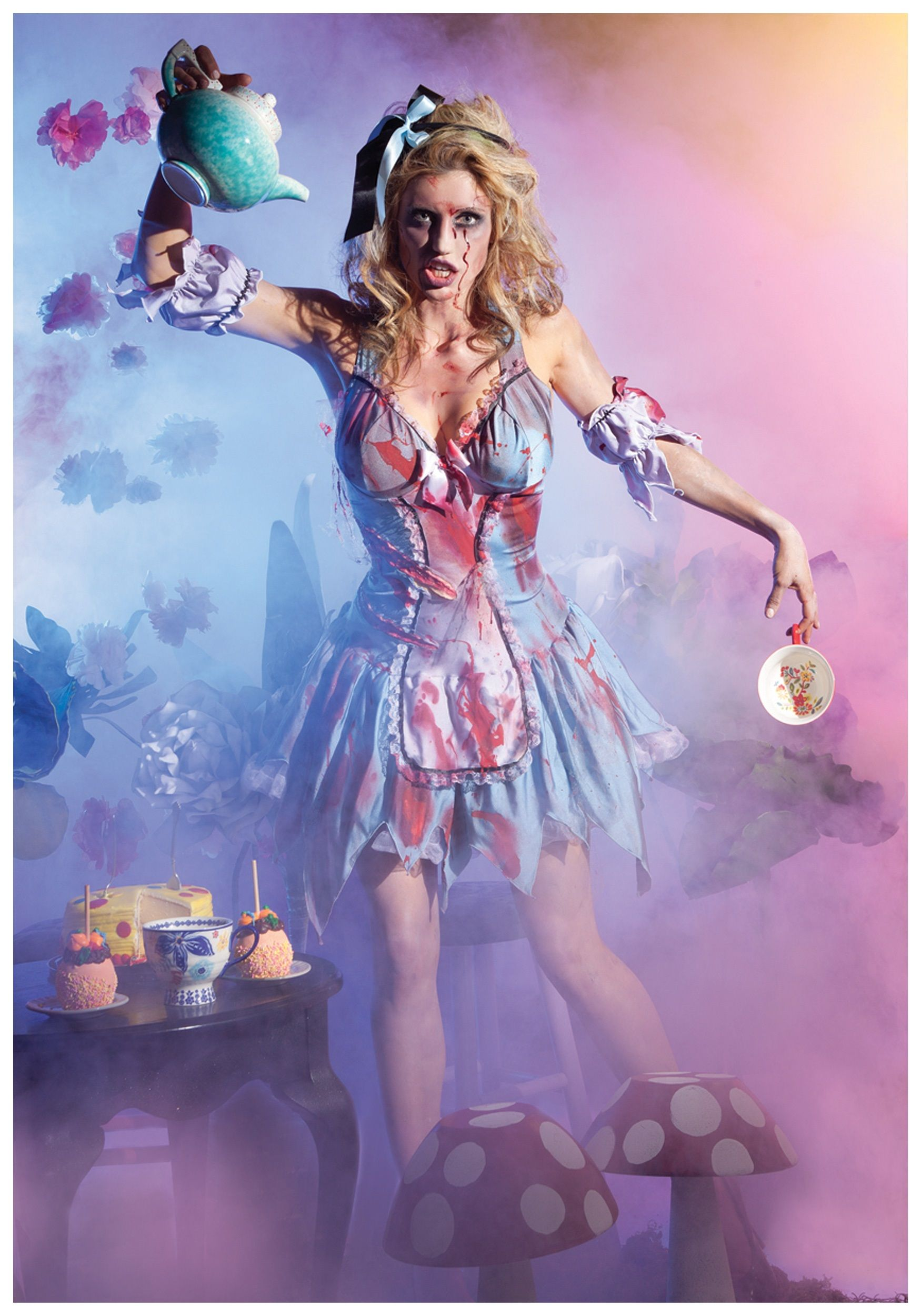 Looking Glass Zombie Alice Costume | Alice costume, Costumes and ...